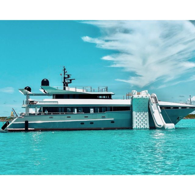 New Yacht Alert! 🚨 122' Ultra VIP. 5 cabins, Jacuzzi , Rock Climbing Wall, 3 Jet Skis, Hydrofoil, Waterslide, 👙Swimming Pool and more! #megayacht 🛥💦 #superyacht #luxury #saltlife #yachtlife #funinthesun #funtimes #ilivewhereyouvacation #luxlife #paradise #starlux #starluxyachts New Yacht Alert! 🚨 122' Ultra VIP. 5 cabins, Jacuzzi , Rick Climbing Wall, 3 Jet Skis, Hydrofoil, Waterslide, Swimming Pool and more! #megayacht #superyacht #luxury #saltlife #yachtlife #funinthesun #funtimes #miami #ilivewhereyouvacation #luxlife #paradise #starlux #starluxyachts